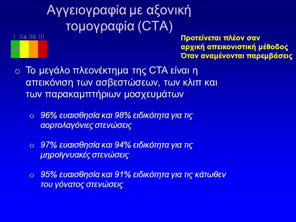Αγγειογραφία με αξονική τομογραφία (CTA)