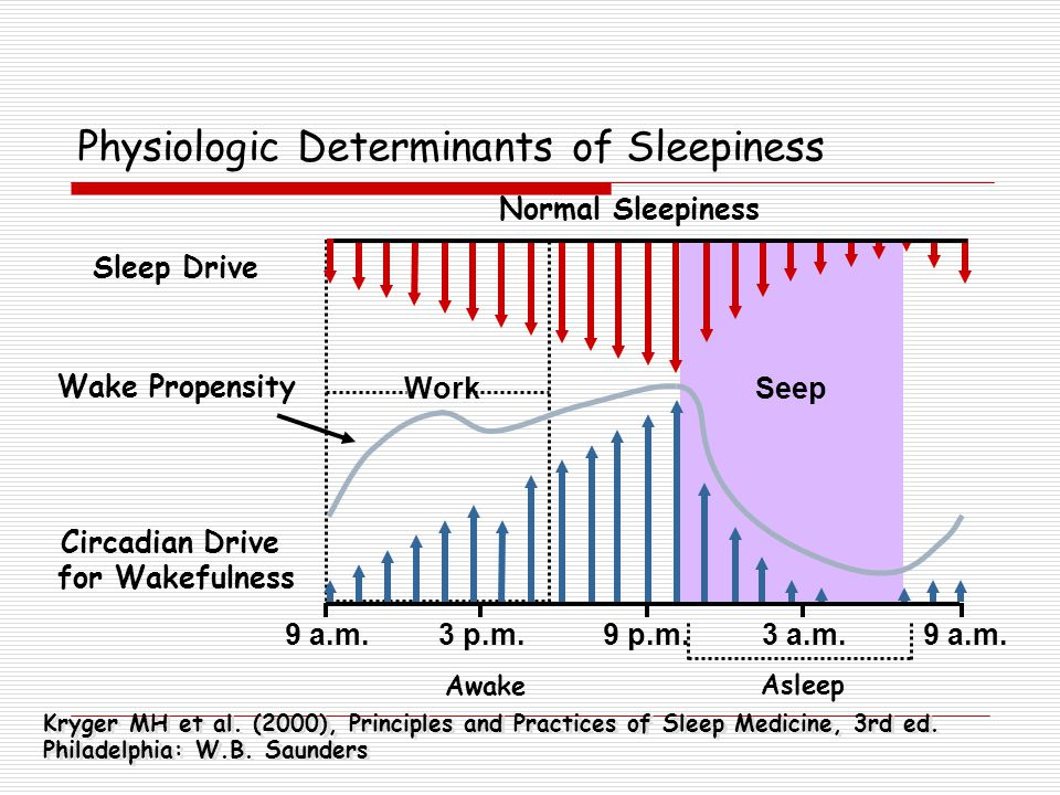 Physiologic Determinants of Sleepiness