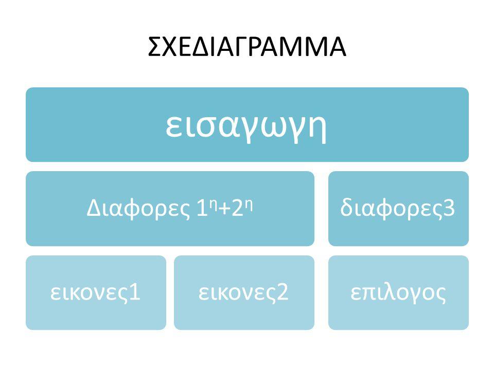 εισαγωγη ΣΧΕΔΙΑΓΡΑΜΜΑ Διαφορες 1η+2η εικονες1 εικονες2 διαφορες3