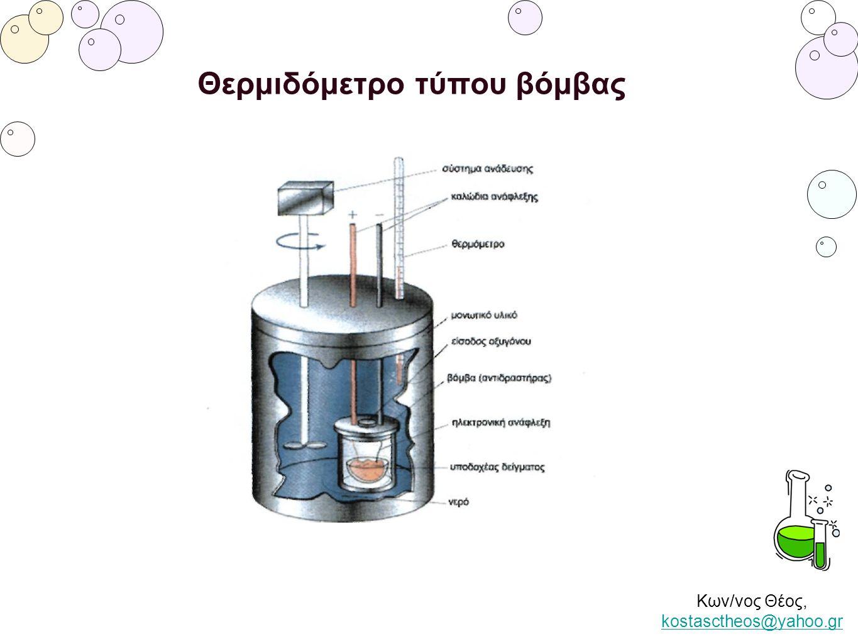 Θερμιδόμετρο τύπου βόμβας