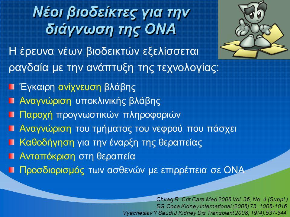 Νέοι βιοδείκτες για την διάγνωση της ΟΝΑ