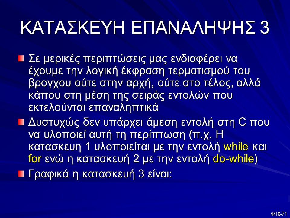 ΚΑΤΑΣΚΕΥΗ ΕΠΑΝΑΛΗΨΗΣ 3