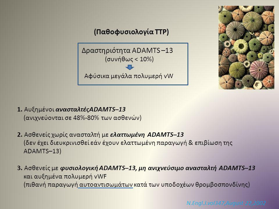 Δραστηριότητα ADAMTS –13