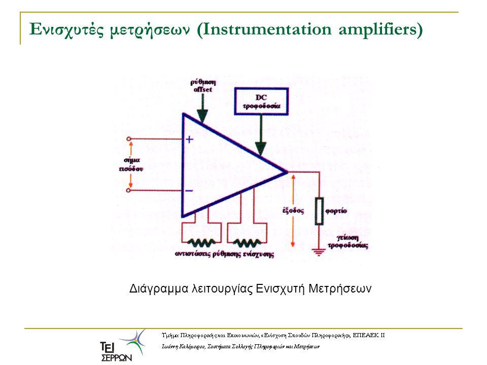 Ενισχυτές μετρήσεων (Instrumentation amplifiers)