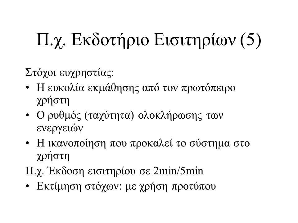 Π.χ. Εκδοτήριο Εισιτηρίων (5)