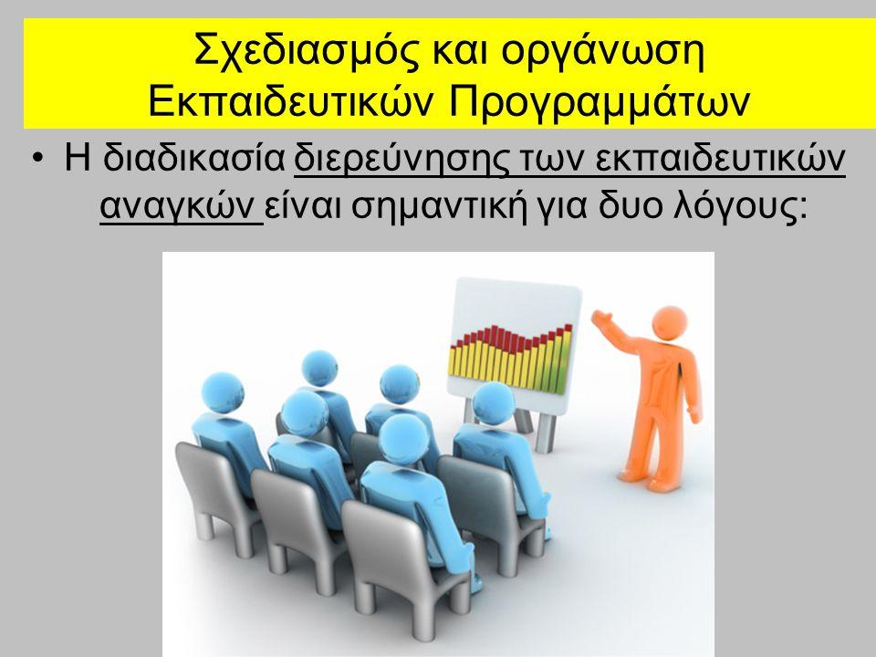 Σχεδιασμός και οργάνωση Εκπαιδευτικών Προγραμμάτων