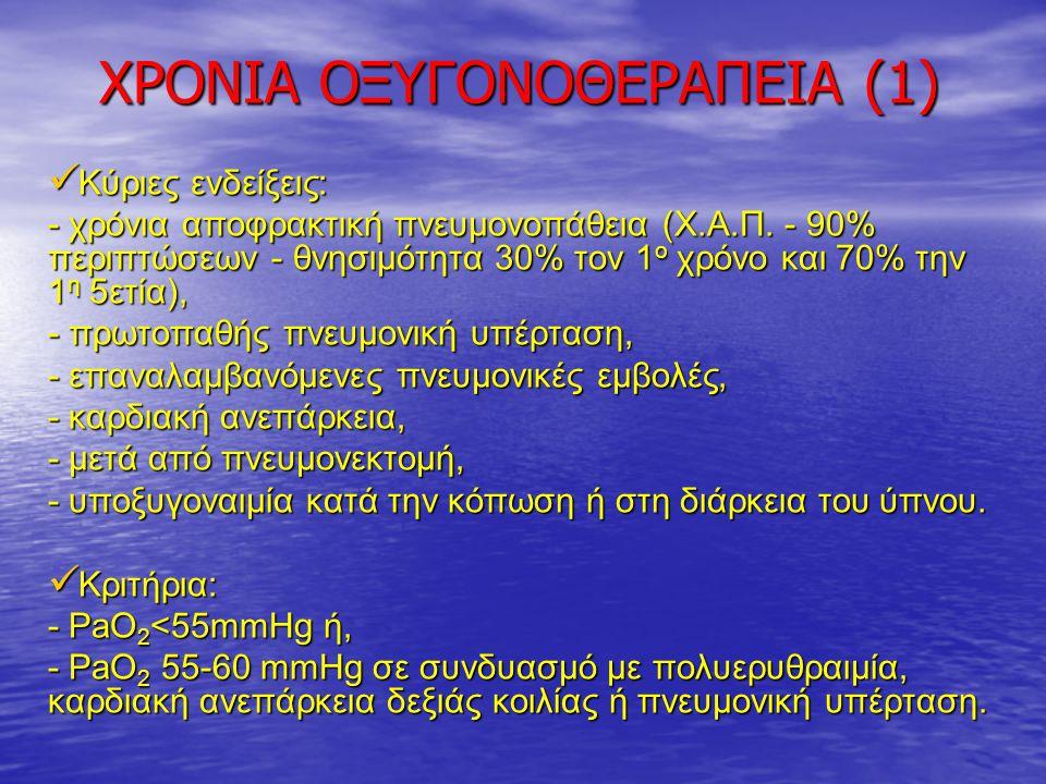 ΧΡΟΝΙΑ ΟΞΥΓΟΝΟΘΕΡΑΠΕΙΑ (1)