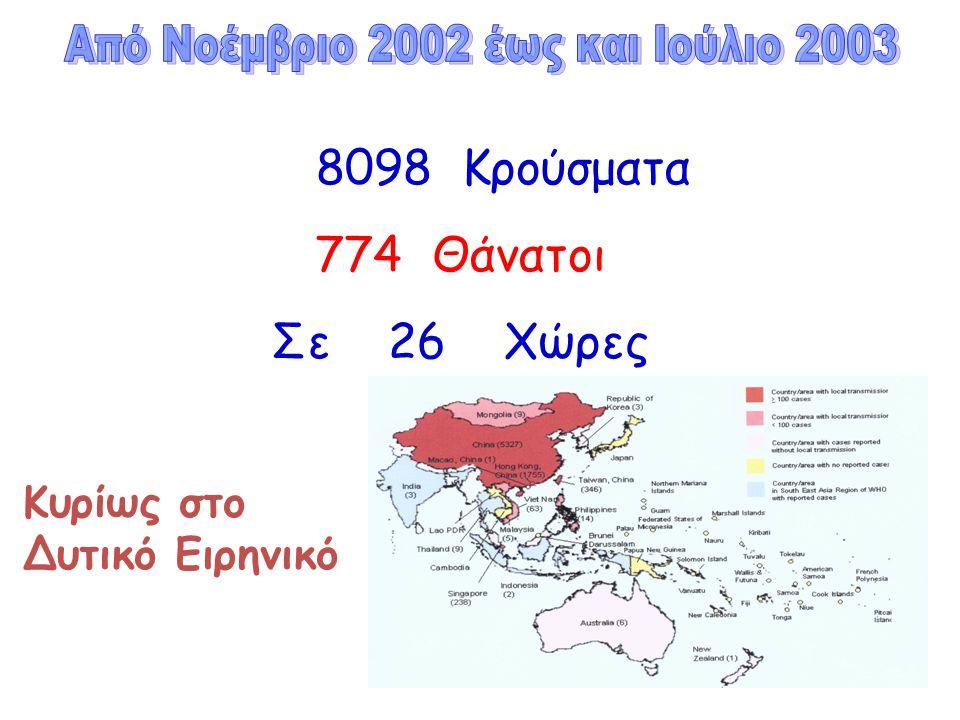 Από Νοέμβριο 2002 έως και Ιούλιο 2003
