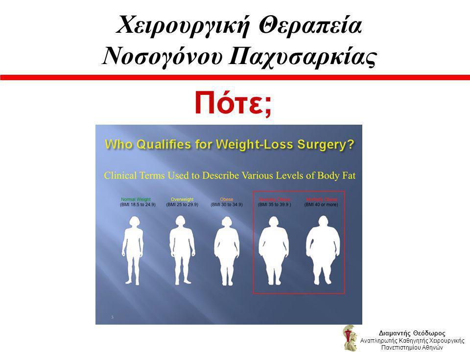 Χειρουργική Θεραπεία Νοσογόνου Παχυσαρκίας