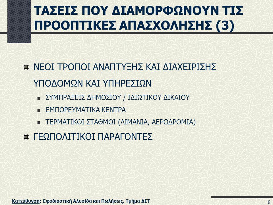 ΤΑΣΕΙΣ ΠΟΥ ΔΙΑΜΟΡΦΩΝΟΥΝ ΤΙΣ ΠΡΟΟΠΤΙΚΕΣ ΑΠΑΣΧΟΛΗΣΗΣ (3)