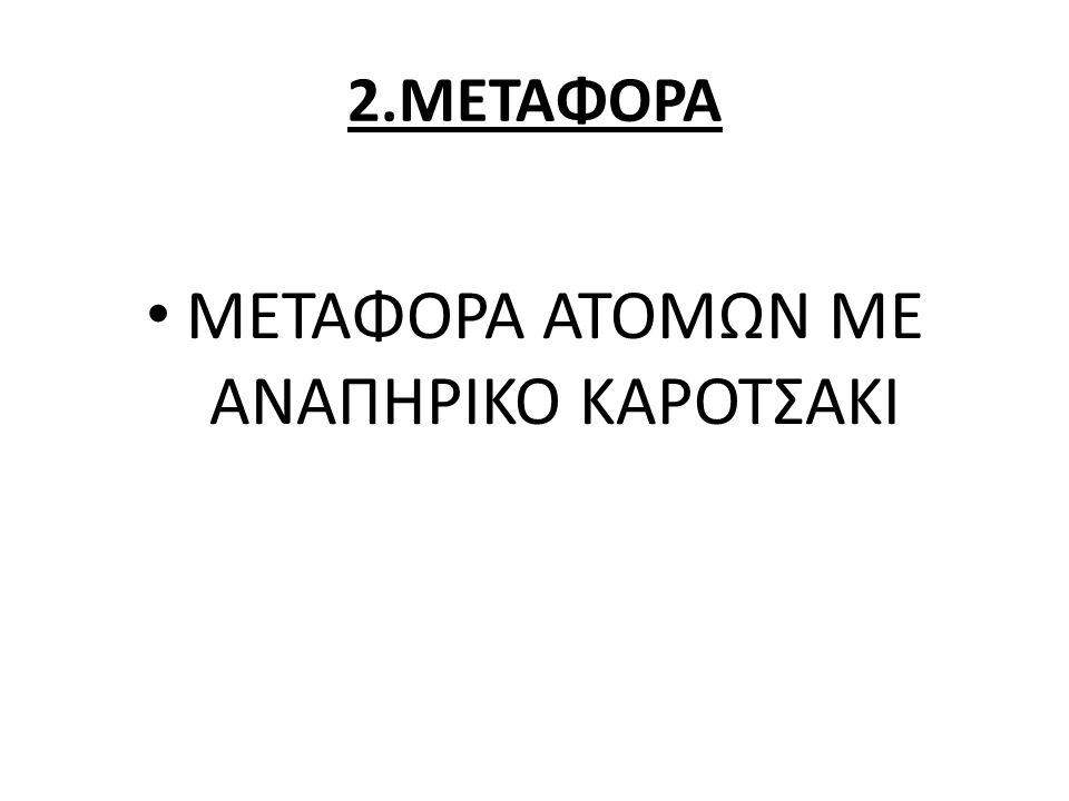 ΜΕΤΑΦΟΡΑ ΑΤΟΜΩΝ ΜΕ ΑΝΑΠΗΡΙΚΟ ΚΑΡΟΤΣΑΚΙ