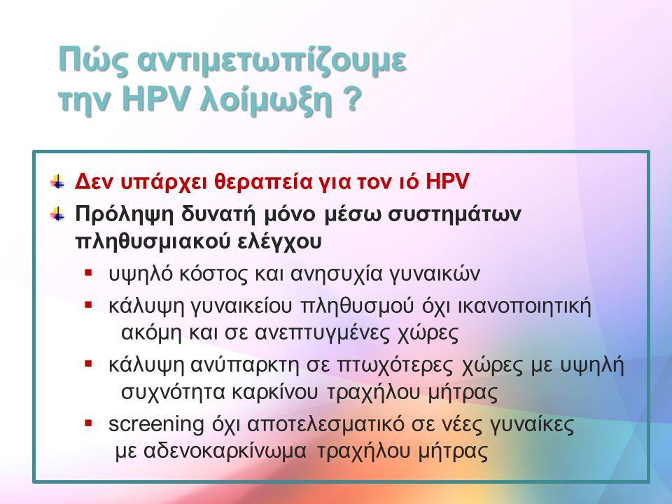 Πώς αντιμετωπίζουμε την HPV λοίμωξη