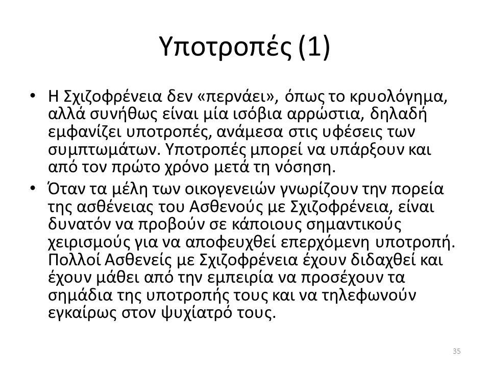 Υποτροπές (1)