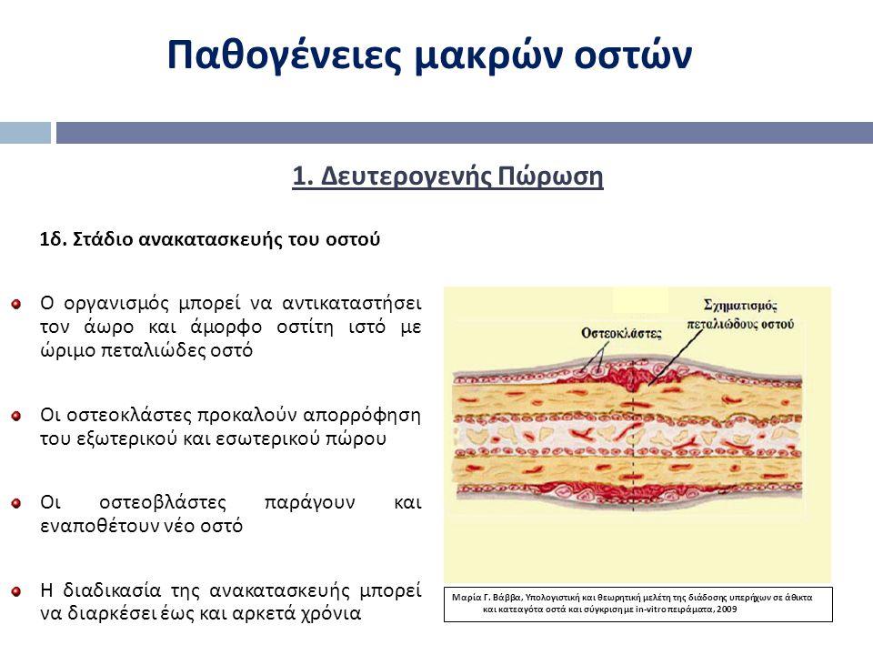 Παθογένειες μακρών οστών