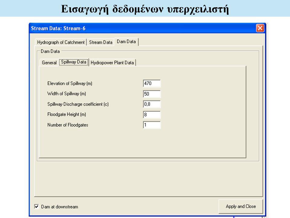Εισαγωγή δεδομένων υπερχειλιστή
