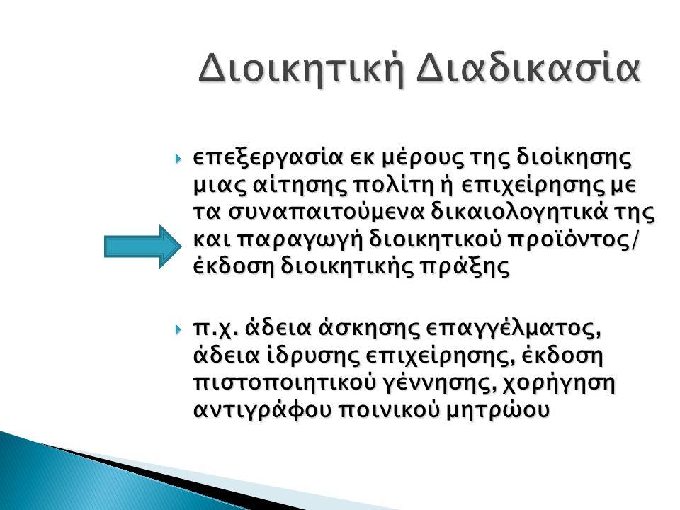 Διοικητική Διαδικασία