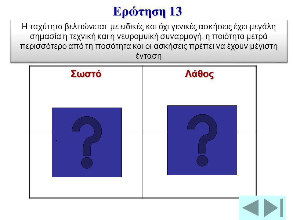 Ερώτηση 13