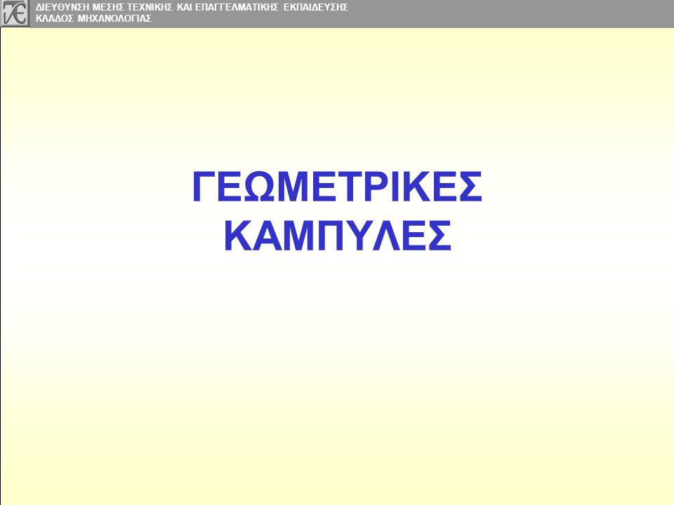 ΓΕΩΜΕΤΡΙΚΕΣ ΚΑΜΠΥΛΕΣ