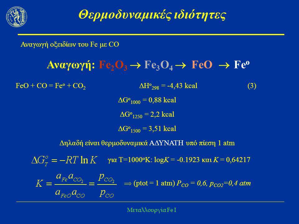 Θερμοδυναμικές ιδιότητες