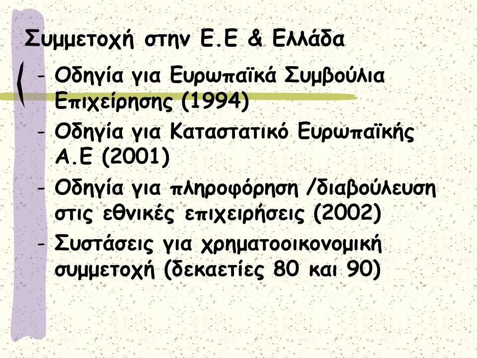Συμμετοχή στην Ε.Ε & Ελλάδα
