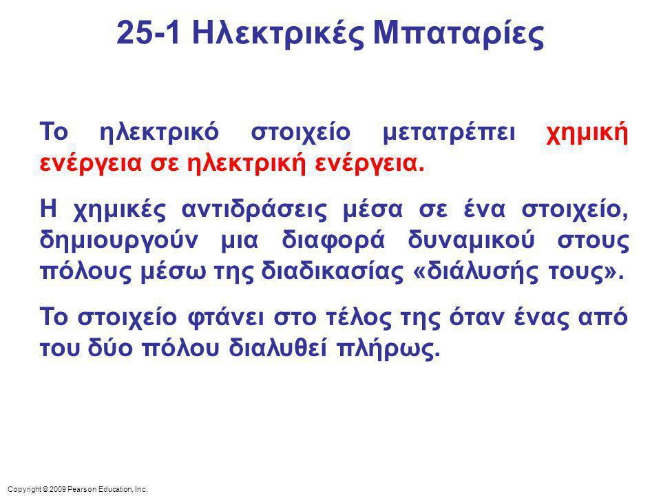 25-1 Ηλεκτρικές Μπαταρίες