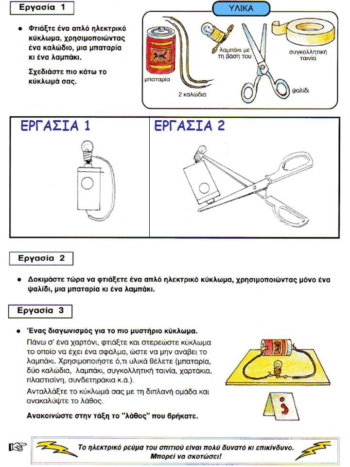 ΕΡΓΑΣΙΑ 1 ΕΡΓΑΣΙΑ 2