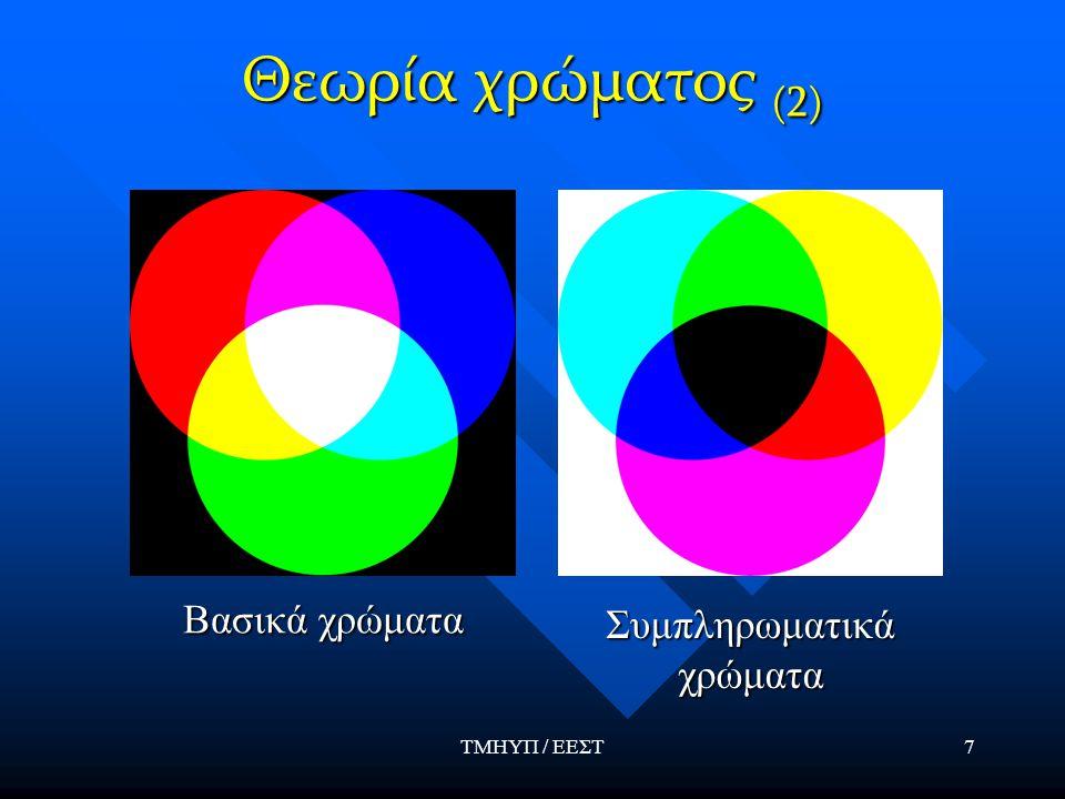 Συμπληρωματικά χρώματα