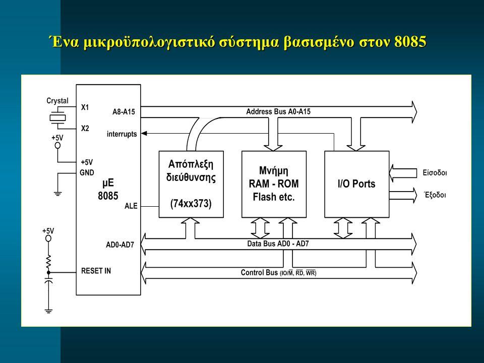Ένα μικροϋπολογιστικό σύστημα βασισμένο στον 8085