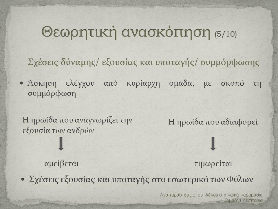 Θεωρητική ανασκόπηση (5/10)
