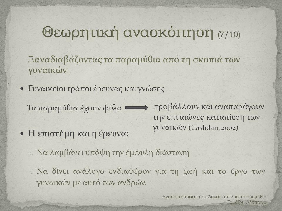 Θεωρητική ανασκόπηση (7/10)