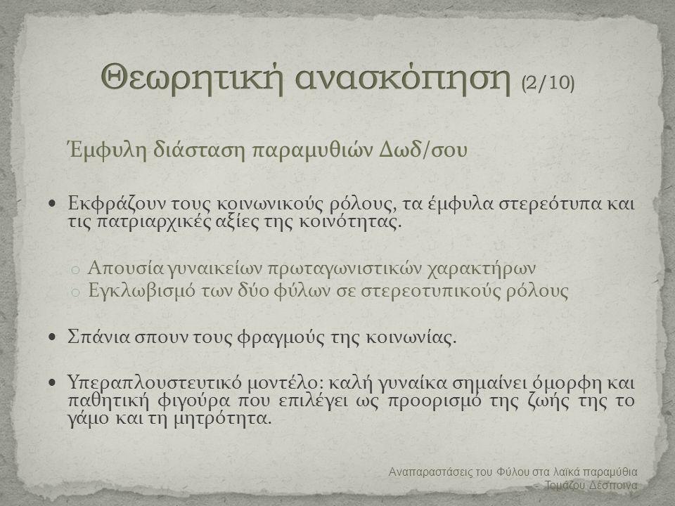 Θεωρητική ανασκόπηση (2/10)