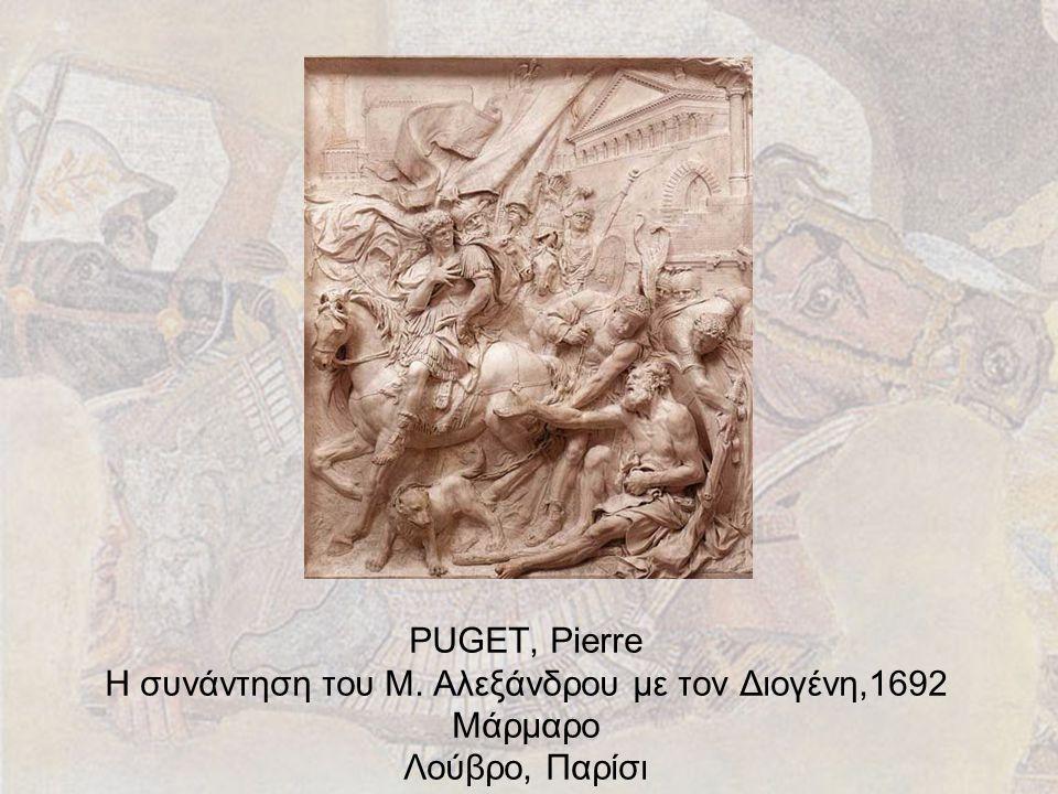 PUGET, Pierre Η συνάντηση του Μ