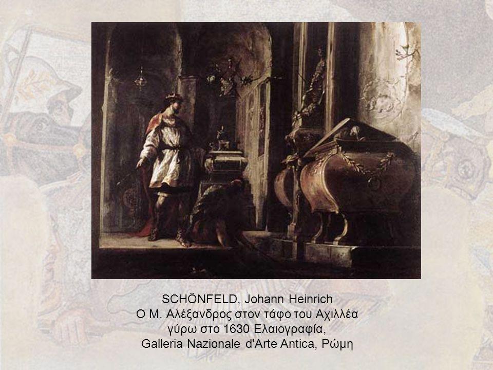 SCHÖNFELD, Johann Heinrich Ο Μ