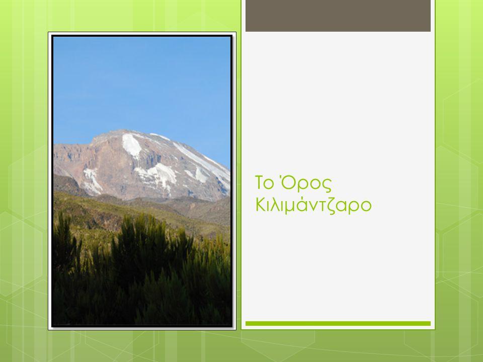 Το Όρος Κιλιμάντζαρο