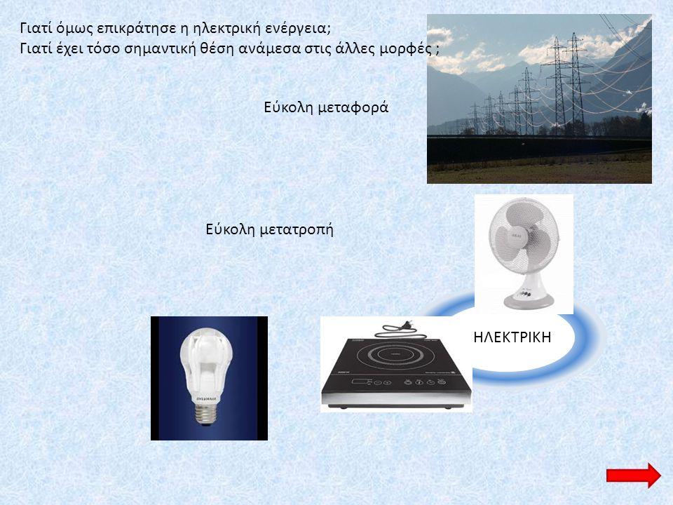 Γιατί όμως επικράτησε η ηλεκτρική ενέργεια;