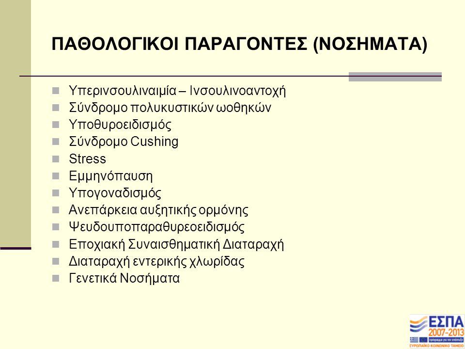 ΠΑΘΟΛΟΓΙΚΟΙ ΠΑΡΑΓΟΝΤΕΣ (ΝΟΣΗΜΑΤΑ)