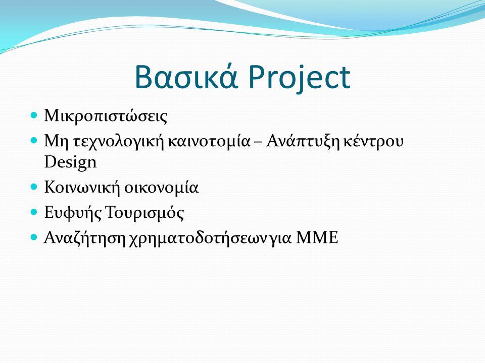 Βασικά Project Μικροπιστώσεις