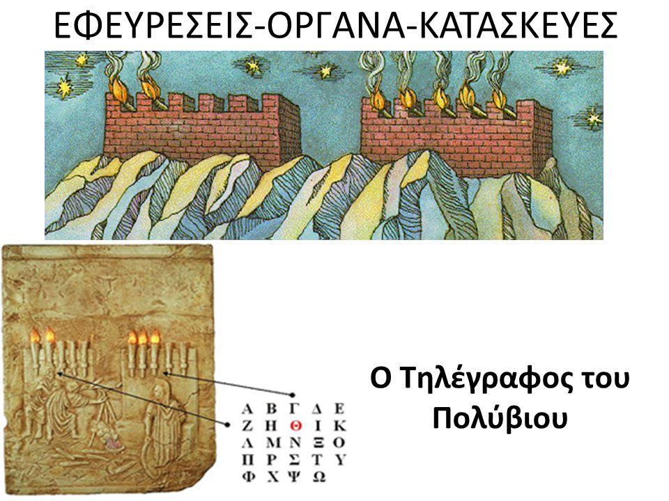ΕΦΕΥΡΕΣΕΙΣ-ΟΡΓΑΝΑ-ΚΑΤΑΣΚΕΥΕΣ