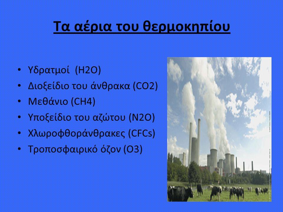 Τα αέρια του θερμοκηπίου