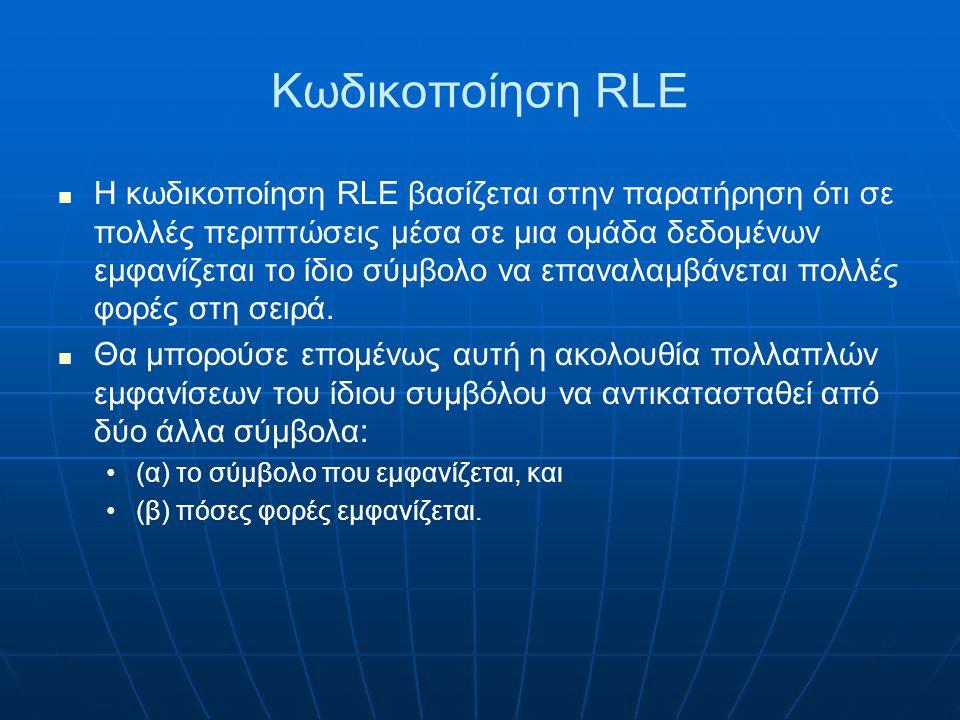 Κωδικοποίηση RLE