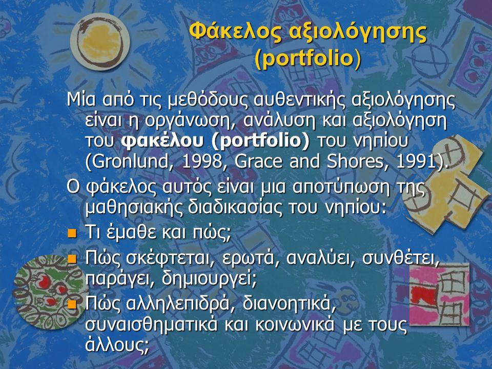 Φάκελος αξιολόγησης (portfolio)