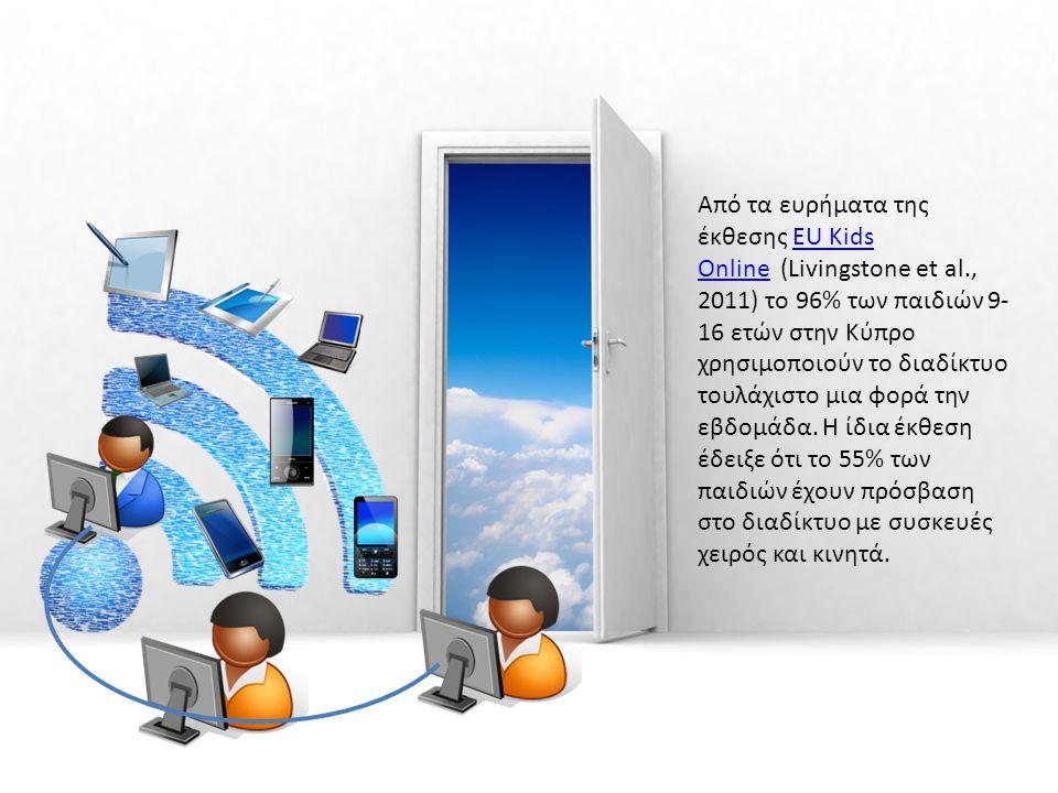 Από τα ευρήματα της έκθεσης EU Kids Online (Livingstone et al