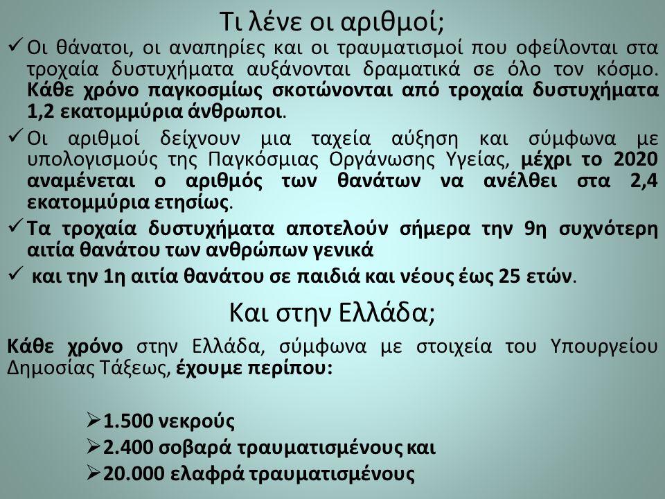Τι λένε οι αριθμοί; Και στην Ελλάδα;