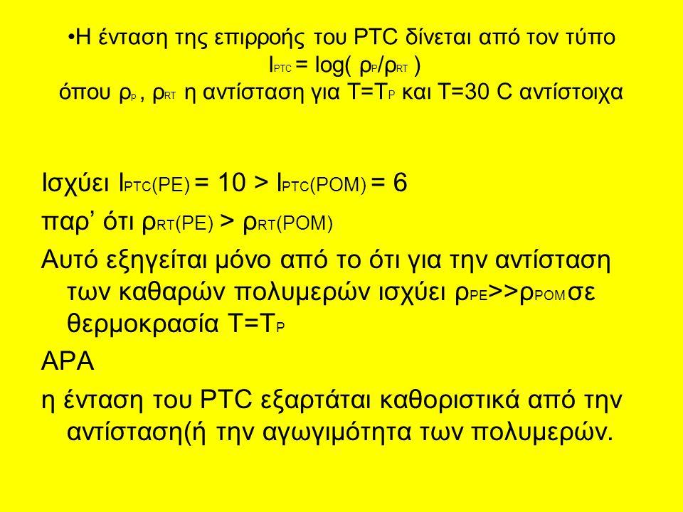 Ισχύει lPTC(PE) = 10 > lPTC(POM) = 6 παρ' ότι ρRT(PE) > ρRT(POM)