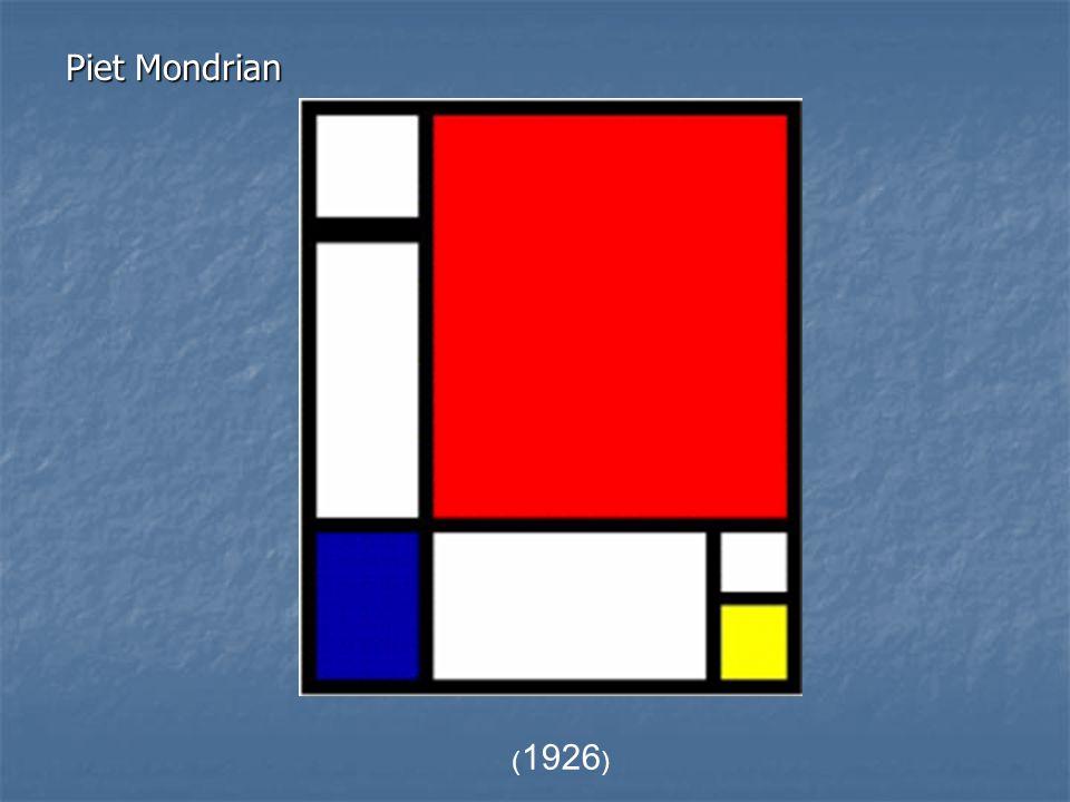 Piet Mondrian (1926)