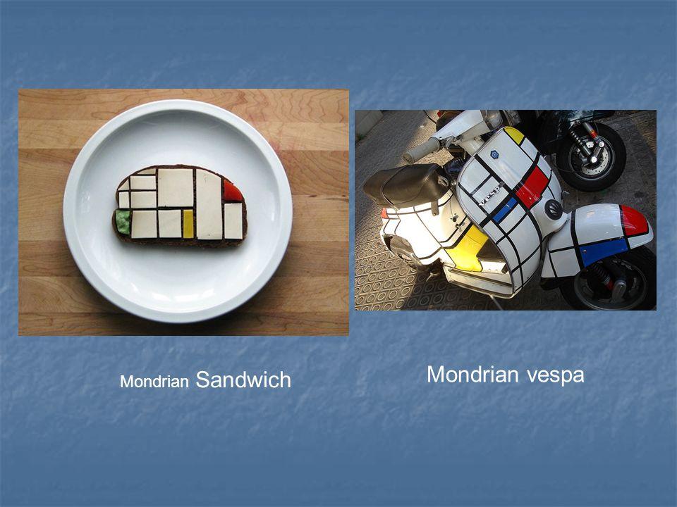 Mondrian vespa Mondrian Sandwich