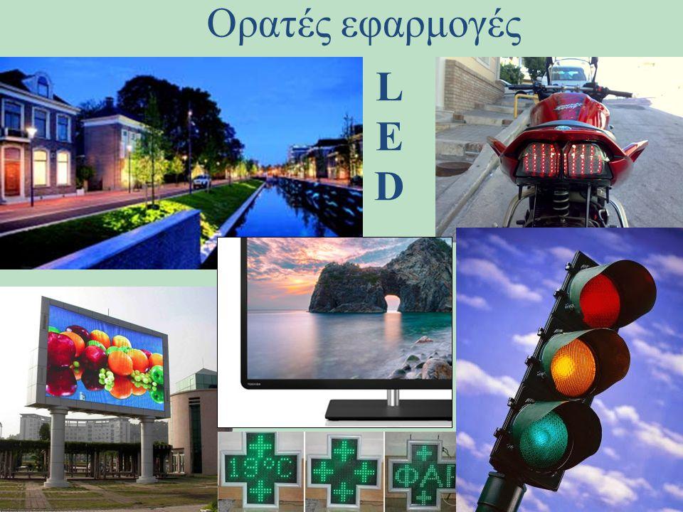 Ορατές εφαρμογές L E D