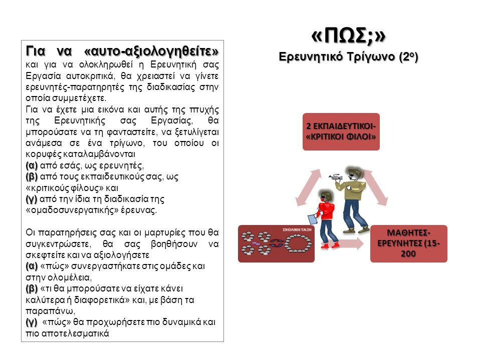 Ερευνητικό Τρίγωνο (2ο)