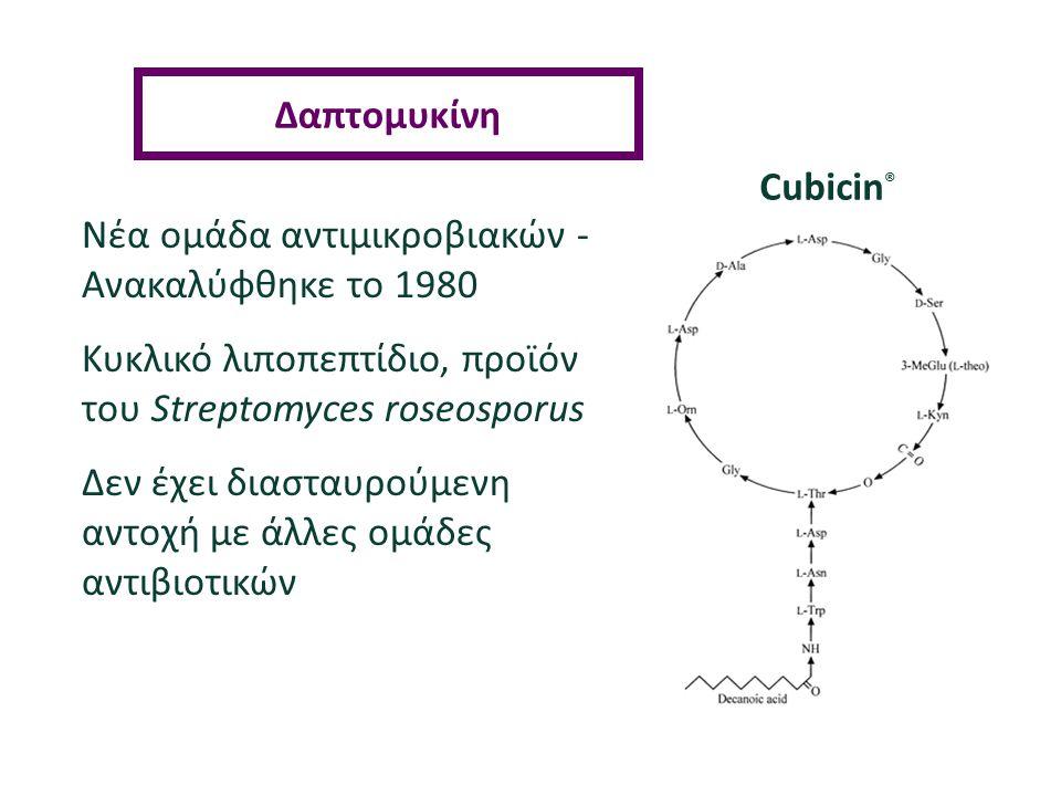 Νέα ομάδα αντιμικροβιακών - Ανακαλύφθηκε τo 1980