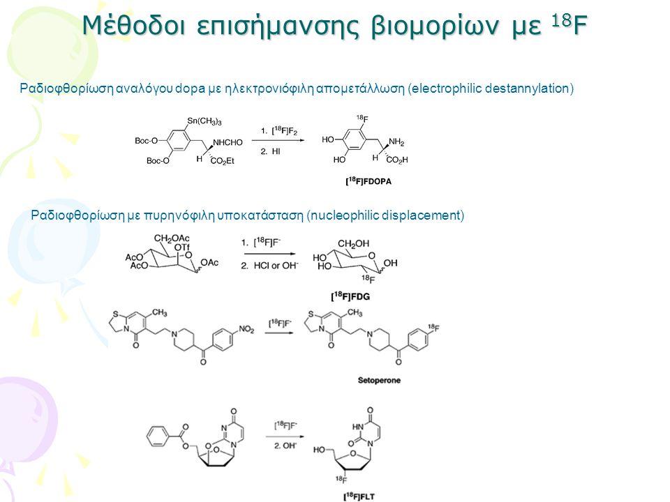 Μέθοδοι επισήμανσης βιομορίων με 18F